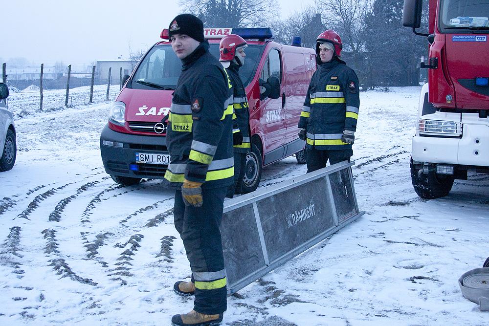 Straż pożarna - Łosie