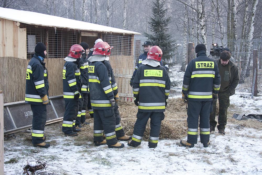 Przygotowania strażaków