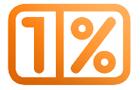 Jeden procent!